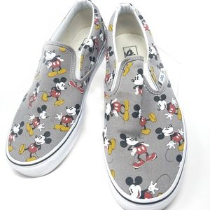 Vans x Disney Mickey Mouse Sneakers Mens Size 10.5